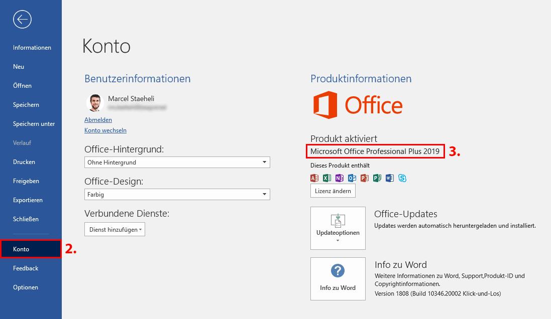 Welche Office Version